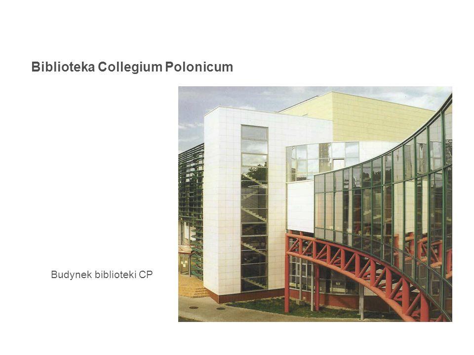 Biblioteka Collegium Polonicum Budynek biblioteki CP