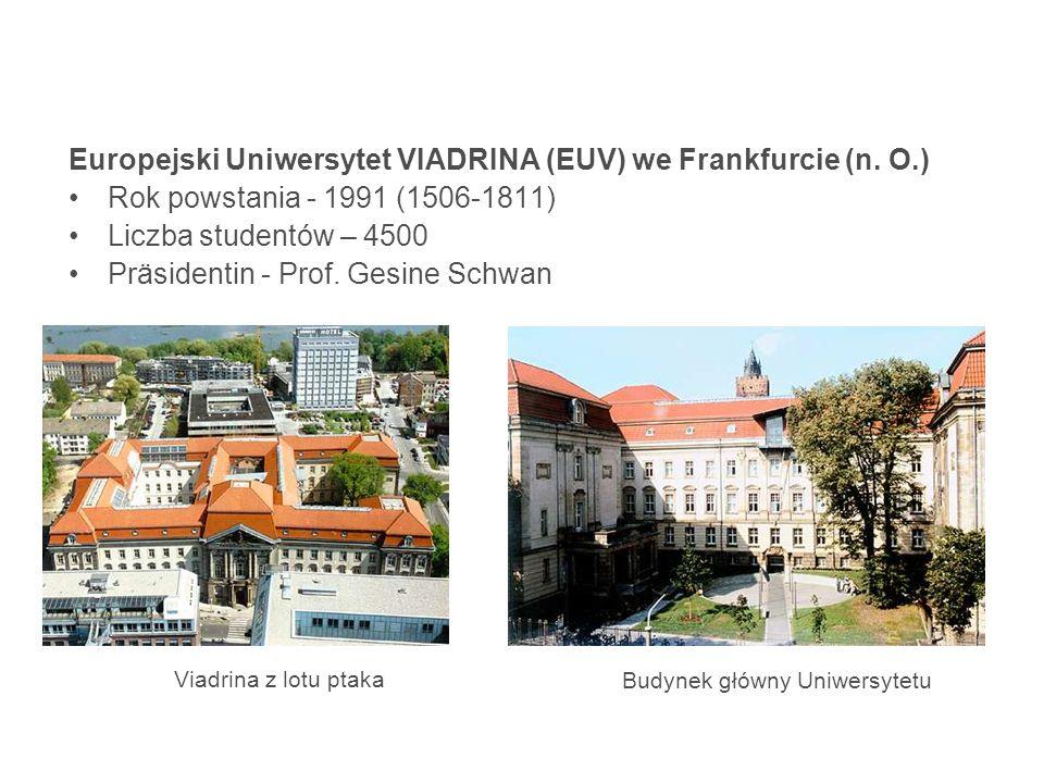 Europejski Uniwersytet VIADRINA (EUV) we Frankfurcie (n.