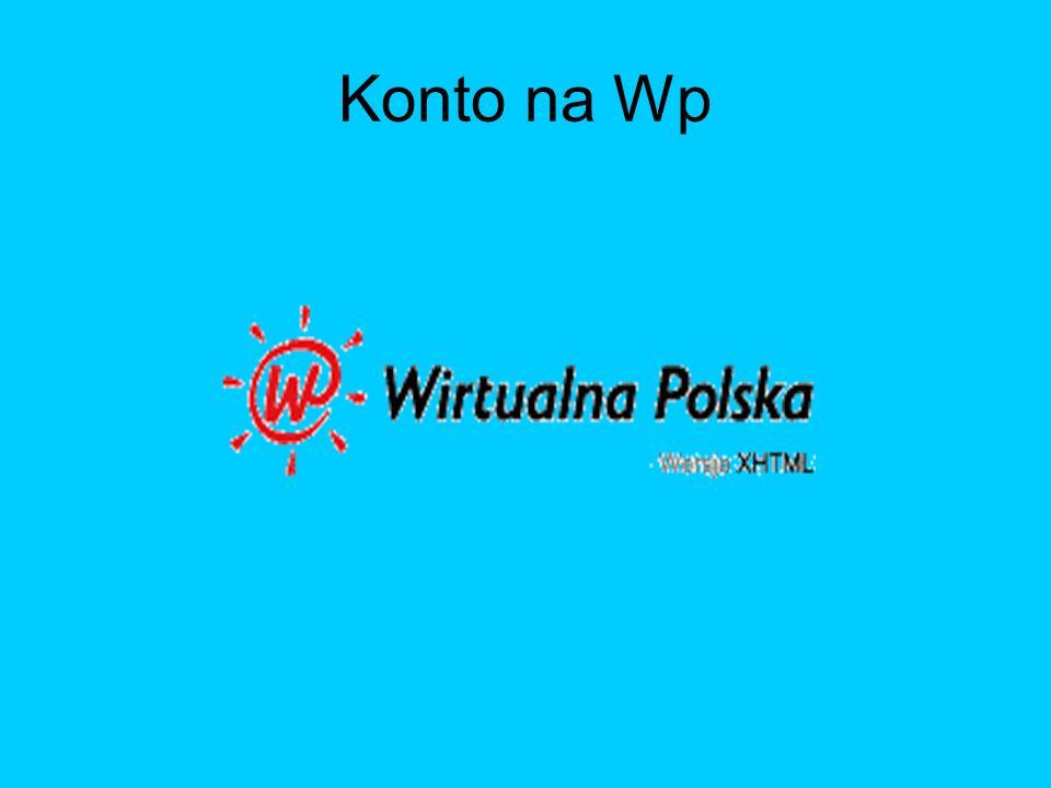 Konto na Wp
