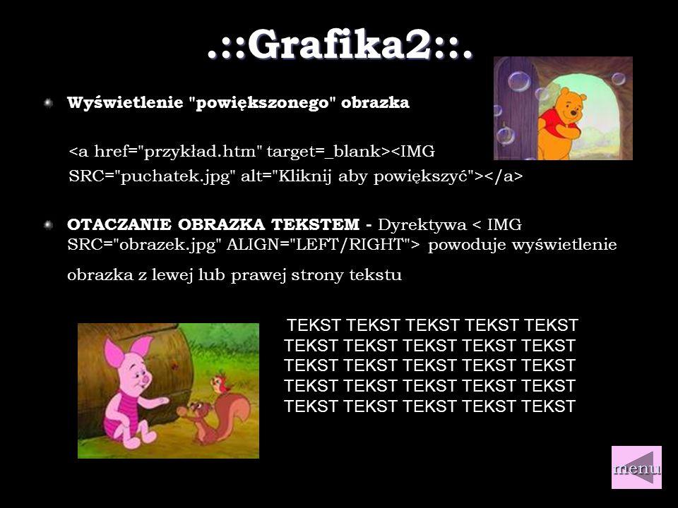 .::Grafika1::. GRAFIKA jest ozdobą strony internetowej.