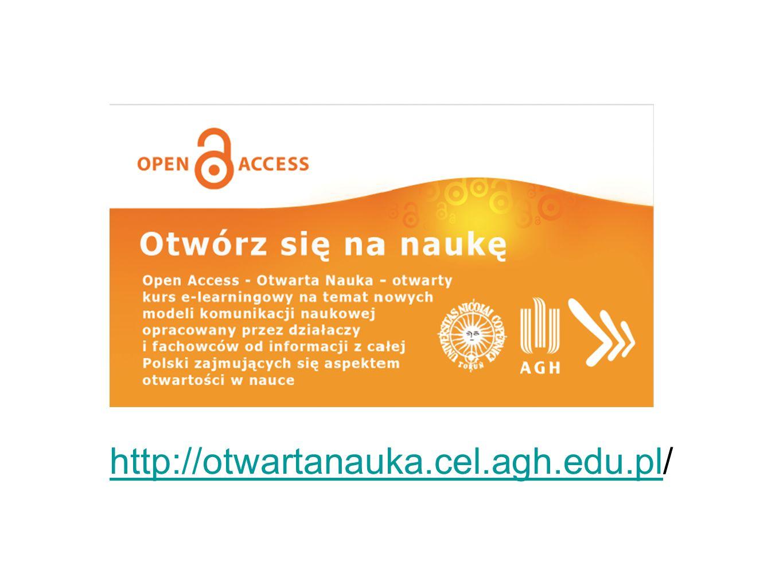 http://otwartanauka.cel.agh.edu.plhttp://otwartanauka.cel.agh.edu.pl/