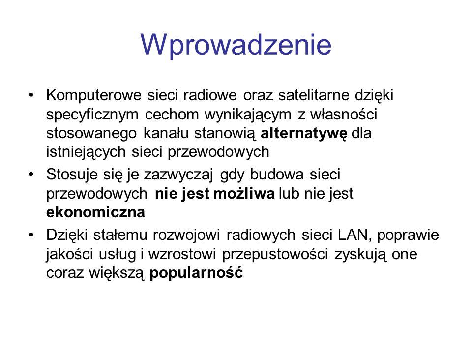 WiMAX Standard IEEE 802.16 WiMAX (ang.