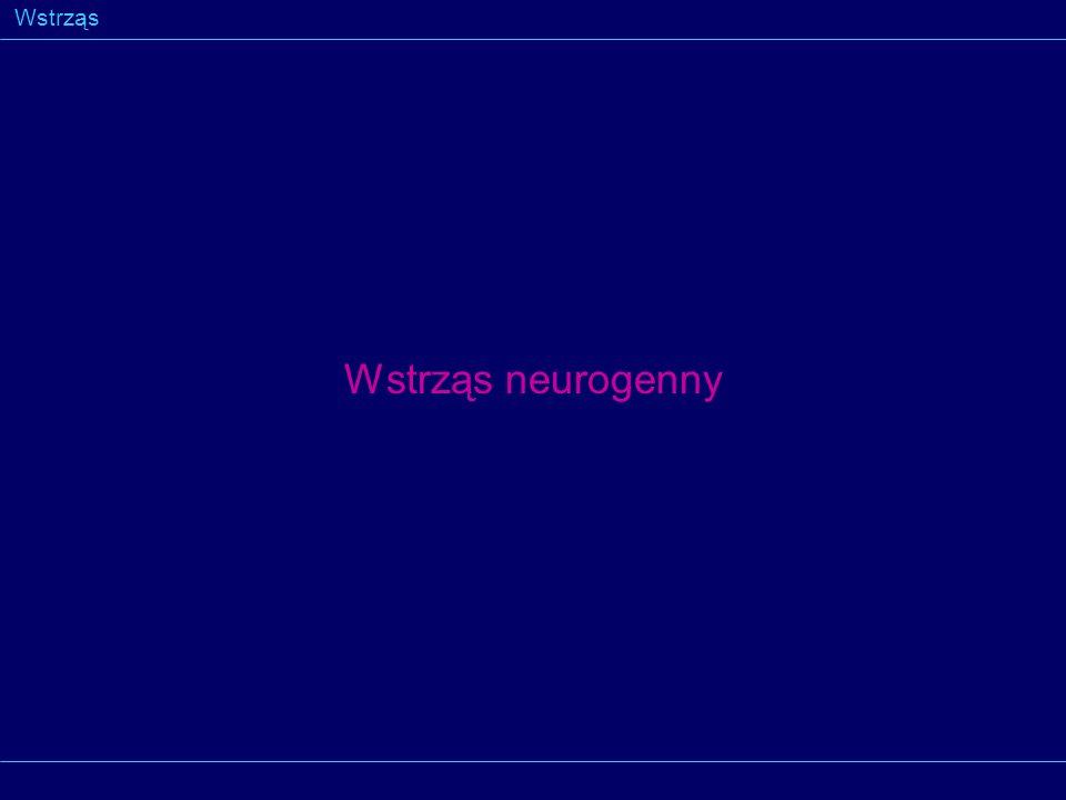 Wstrząs Wstrząs neurogenny