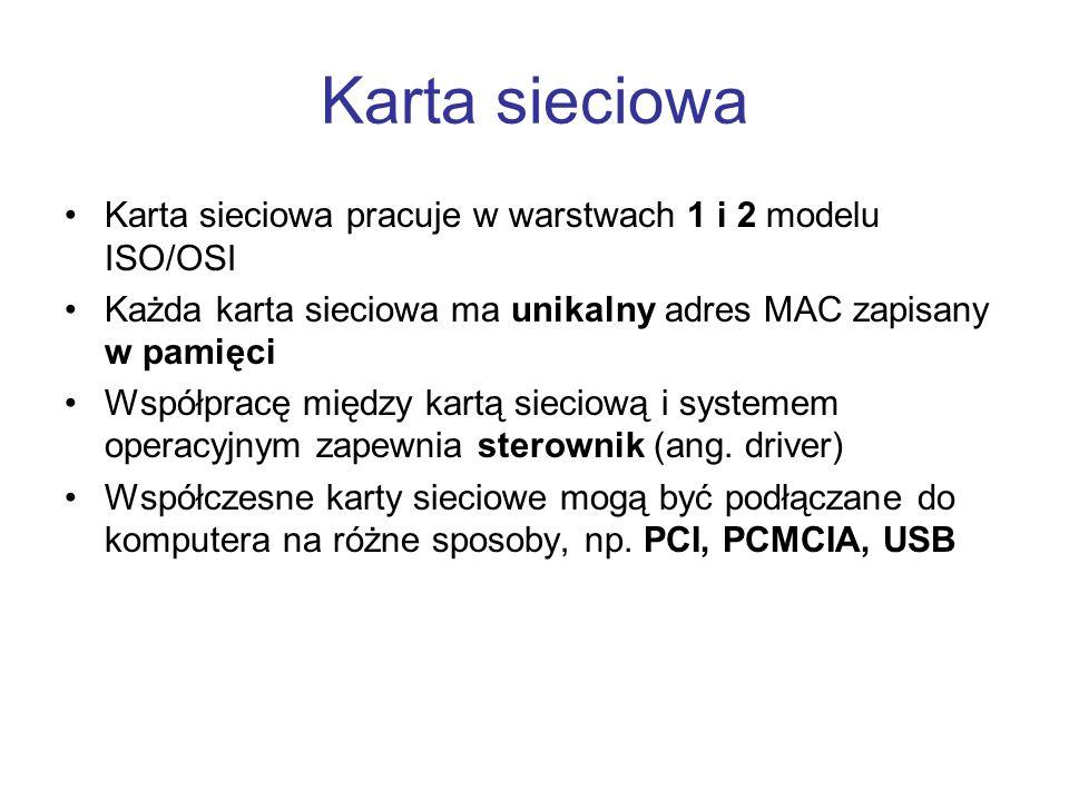 Rodzaje przełączników (2) W stałej obudowie (bez możliwości rozbudowy) Modularne (ang.