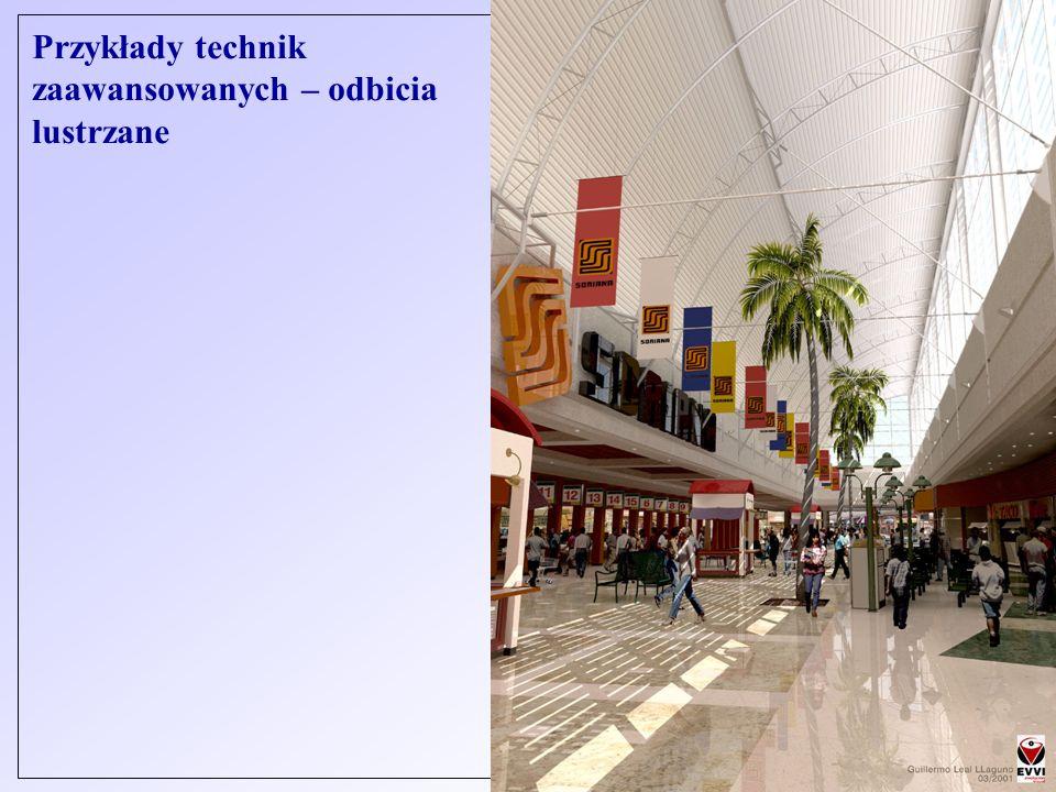 © J. Sas - Cyfrowe przetwarzanie obrazów Przykłady technik zaawansowanych – odbicia lustrzane