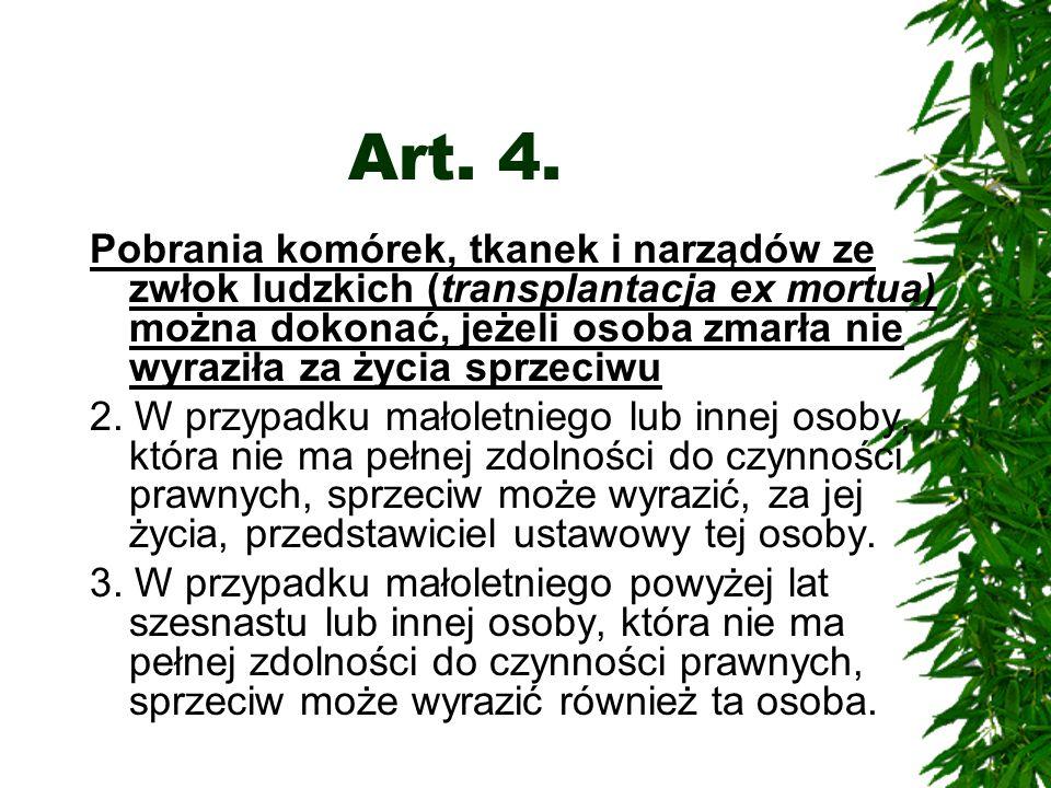 Art.5. 1.