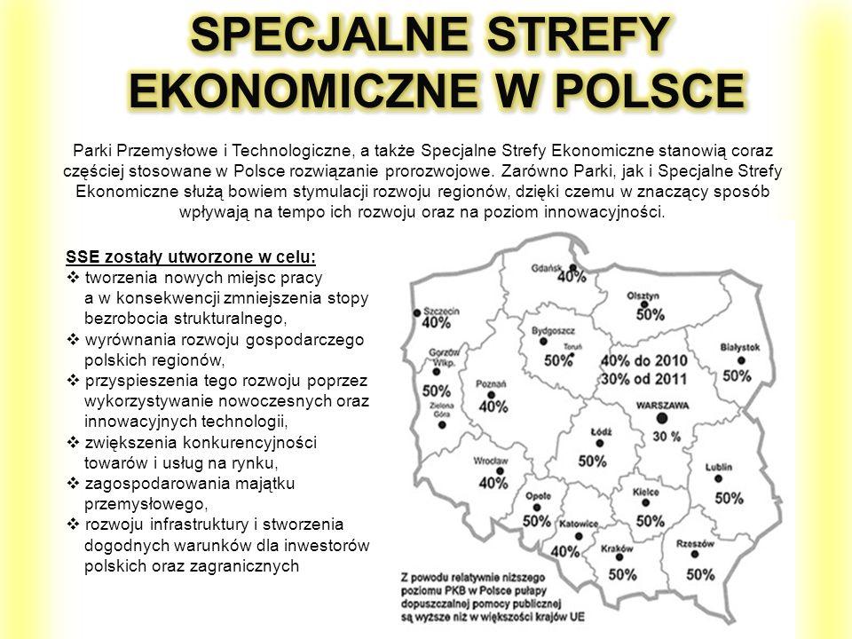 Parki Przemysłowe i Technologiczne, a także Specjalne Strefy Ekonomiczne stanowią coraz częściej stosowane w Polsce rozwiązanie prorozwojowe. Zarówno