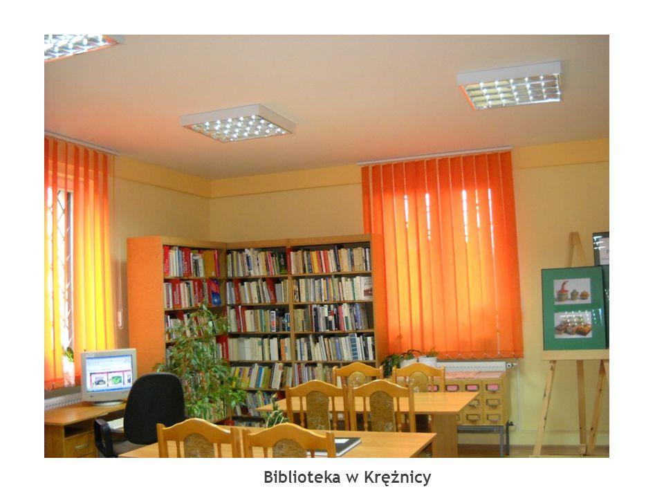 Biblioteka w Krężnicy