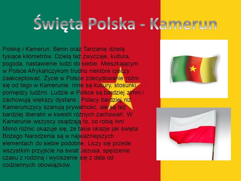 Polskę i Kamerun, Benin oraz Tanzanię dzielą tysiące kilometrów.