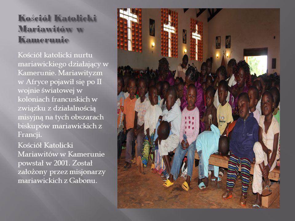 Ko ś ciół Katolicki Mariawitów w Kamerunie Kościół katolicki nurtu mariawickiego działający w Kamerunie. Mariawityzm w Afryce pojawił się po II wojnie
