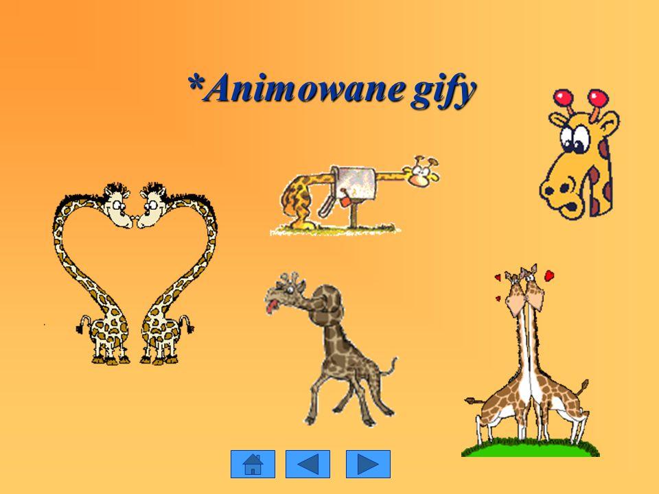 *Animowane gify