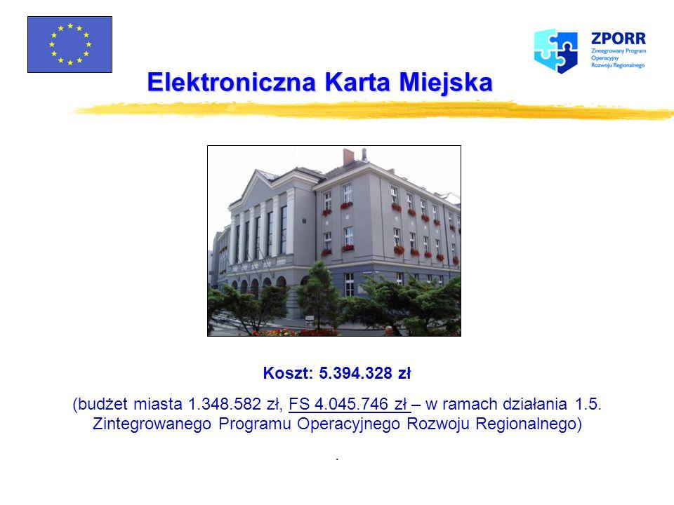 Elektroniczna Karta Miejska Schemat transmisji danych