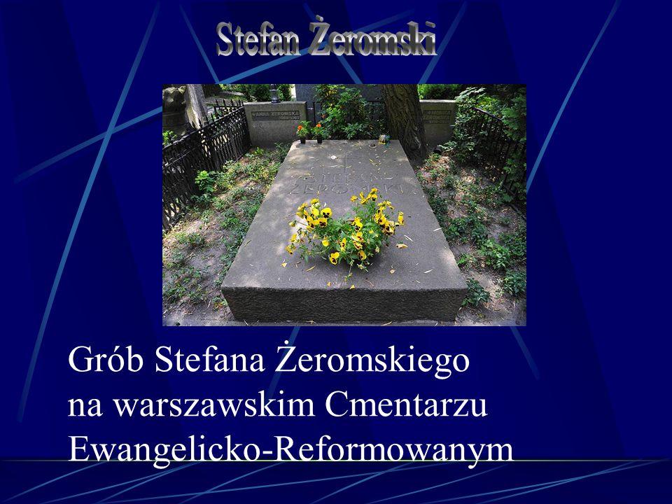 Grób Stefana Żeromskiego na warszawskim Cmentarzu Ewangelicko-Reformowanym