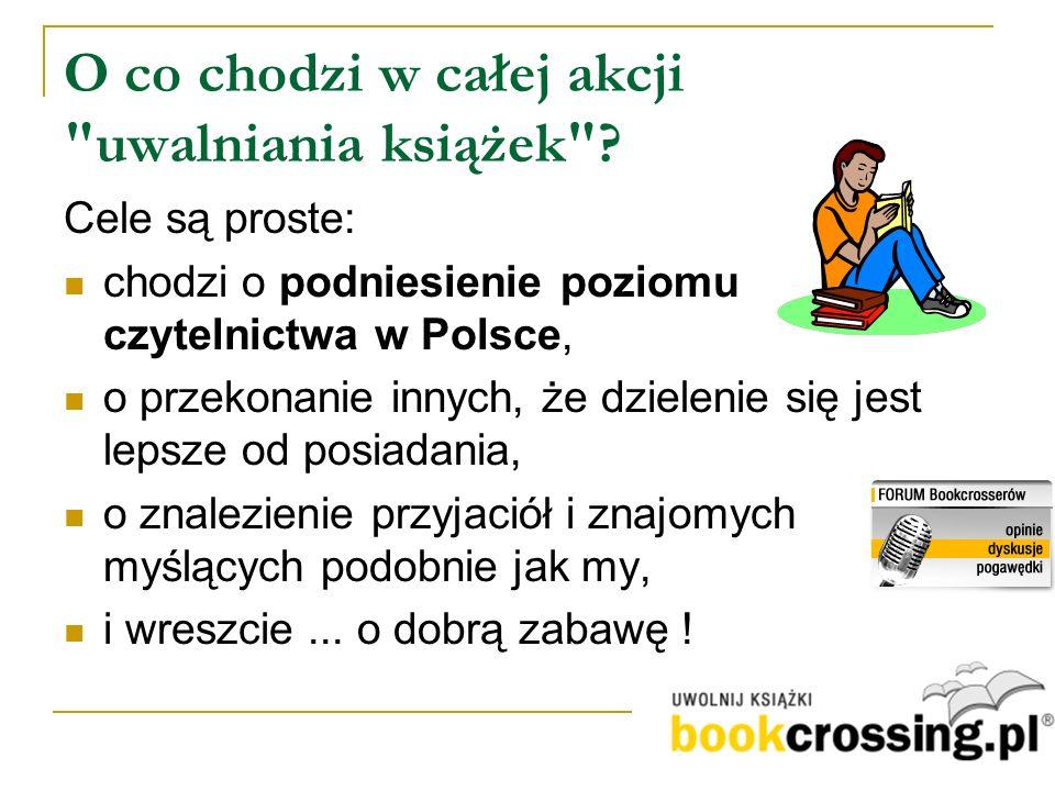 SYTUACJA PIERWSZA Po pierwsze - wejdź na stronę http://bookcrossing.pl http://bookcrossing.pl Po drugie - wpisz podany numer BIP, aby dowiedzieć się, kto tę książkę uwolnił, kto ją przed Tobą czytał i co o niej sądzi.