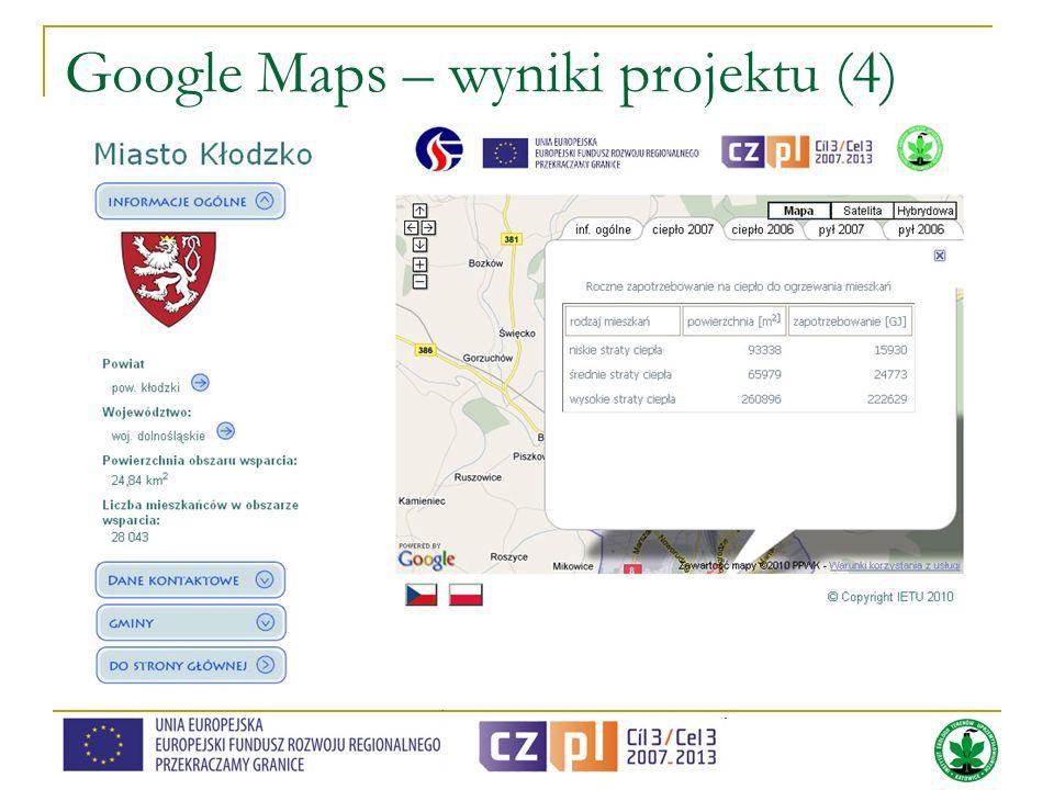 Google Maps – wyniki projektu (4)