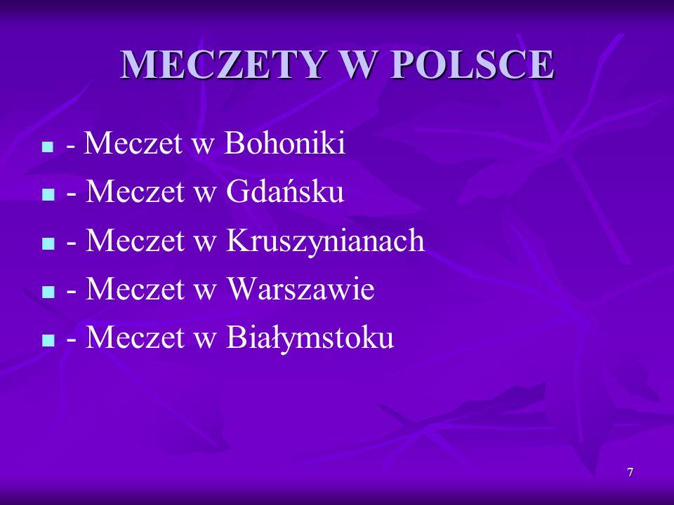 8 Polskie Meczety Gdańsk Bohoniki Kruszyna