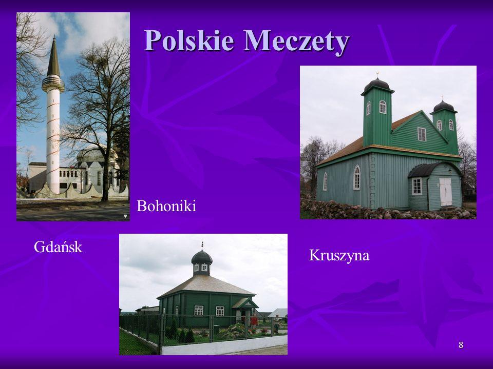 9 INICJATYWY NA RZECZ DIALOGU Od 1997 roku w Polsce działa Rada Wspólna Katolików i Muzułmanów.