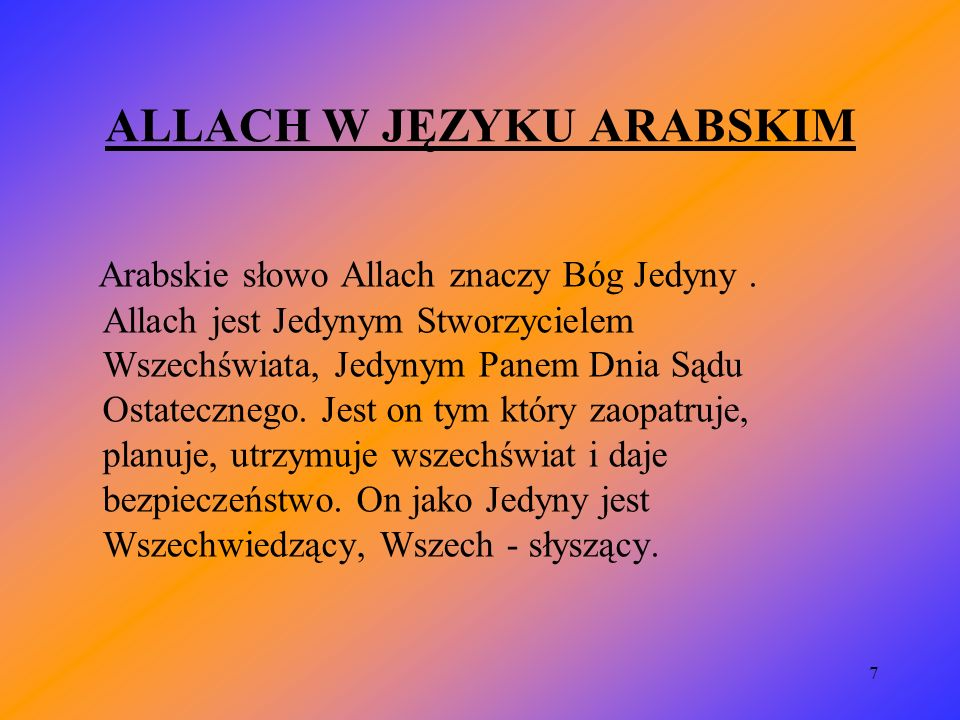 18 ETYKIETA W MECZECIE 1.Przewodniczący modlitwy 2.