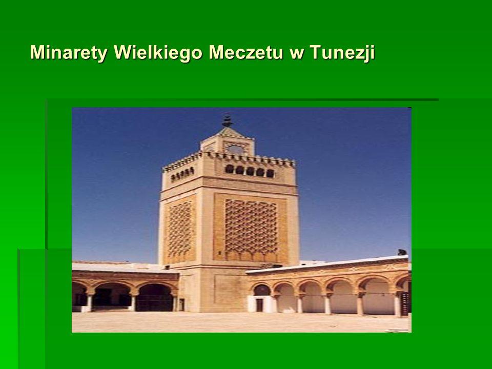 Minarety Starego Miasta w Kairze