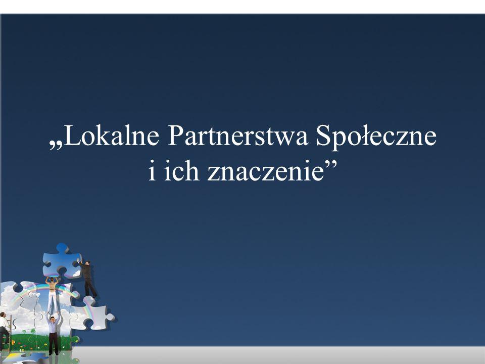 Czym są partnerstwa.Partnerstwo międzysektorowe to strategiczne przymierze...