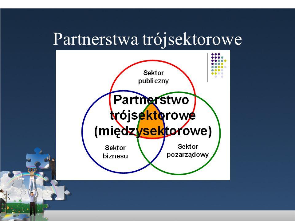 Rodzaje partnerstw Najbardziej ogólnym z możliwych wyszczególnień form funkcjonowania partnerstw lokalnych jest podział partnerstw na: a) partnerstwa o strukturze formalnej, posiadające osobowość prawną oraz b) partnerstwa o strukturze nieformalnej, które tej osobowości nie posiadają.