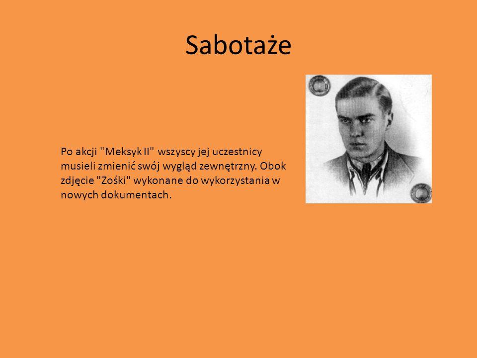 Sabotaże Po akcji