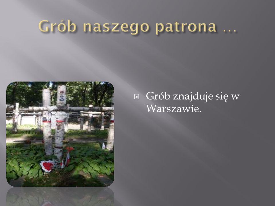 Grób znajduje się w Warszawie.