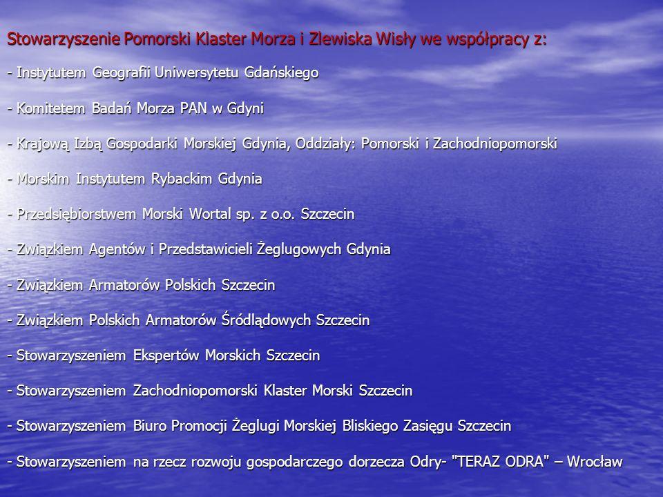 MEGAPROJEKT II MEGAPROJEKT II Pomorski Model Publicznej Statystyki Gospodarki Morskiej Pomorski Model Publicznej Statystyki Gospodarki Morskiej