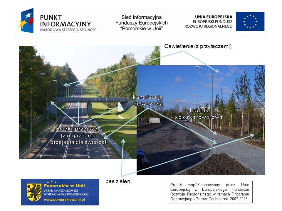 Projekt współfinansowany przez Unię Europejską z Europejskiego Funduszu Rozwoju Regionalnego w ramach Programu Operacyjnego Pomoc Techniczna 2007-2013 1 600 m 800 m 1 200 m400 m