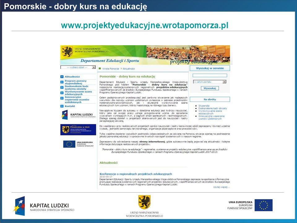 www.projektyedukacyjne.wrotapomorza.pl