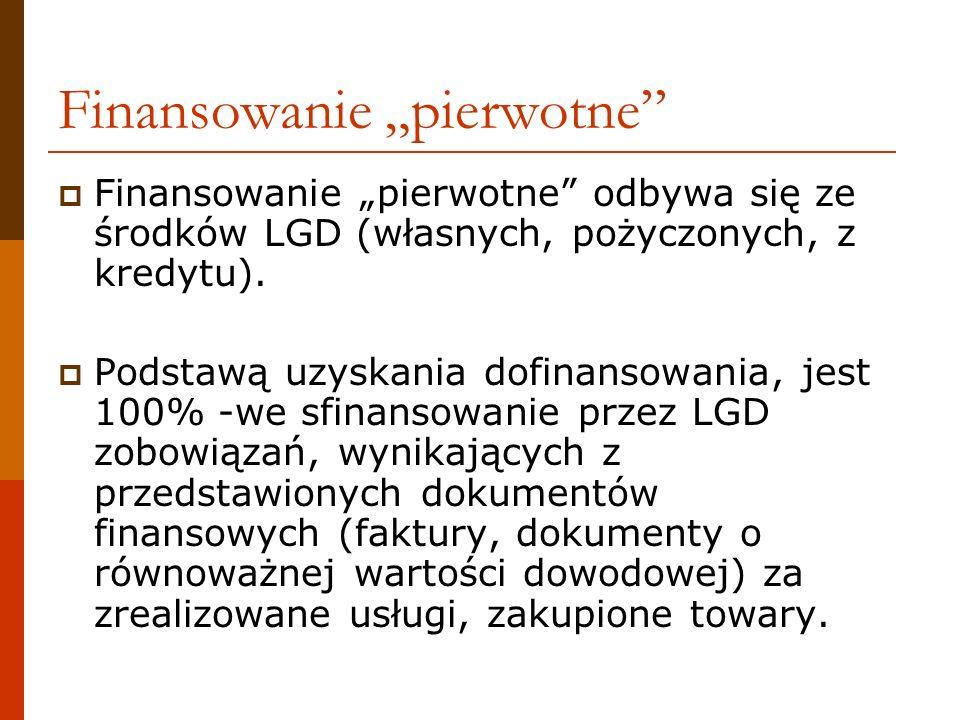 na odwrotnej stronie musi być oznaczenie numerem Umowy oraz liczbą porządkową z Zestawienia dokumentów potwierdzających poniesione wydatki objęte wnioskiem (patrz: kolejność dokumentów wpisana w POLU (20) Wniosku) c.d.
