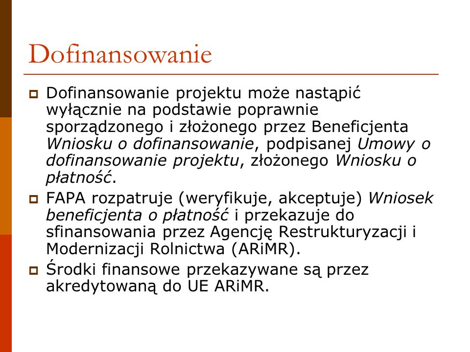 Informacje podstawowe dla opracowania Wniosku znajdują się w: Umowie o dofinansowanie projektu wraz z aneksem (aneksami) Instrukcji do Wniosku beneficjenta o płatność