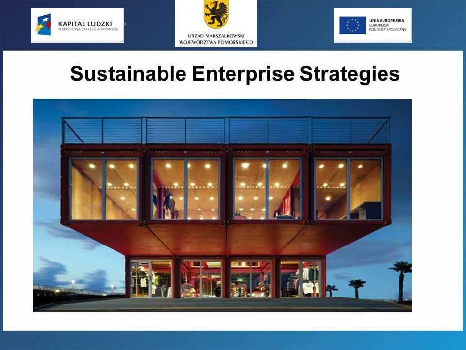 Sustainable Enterprise Strategies
