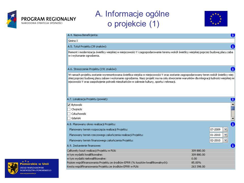 Streszczenie projektu powinno stanowić krótki opis projektu zawierający wskazanie przedmiotu oraz celów Projektu.