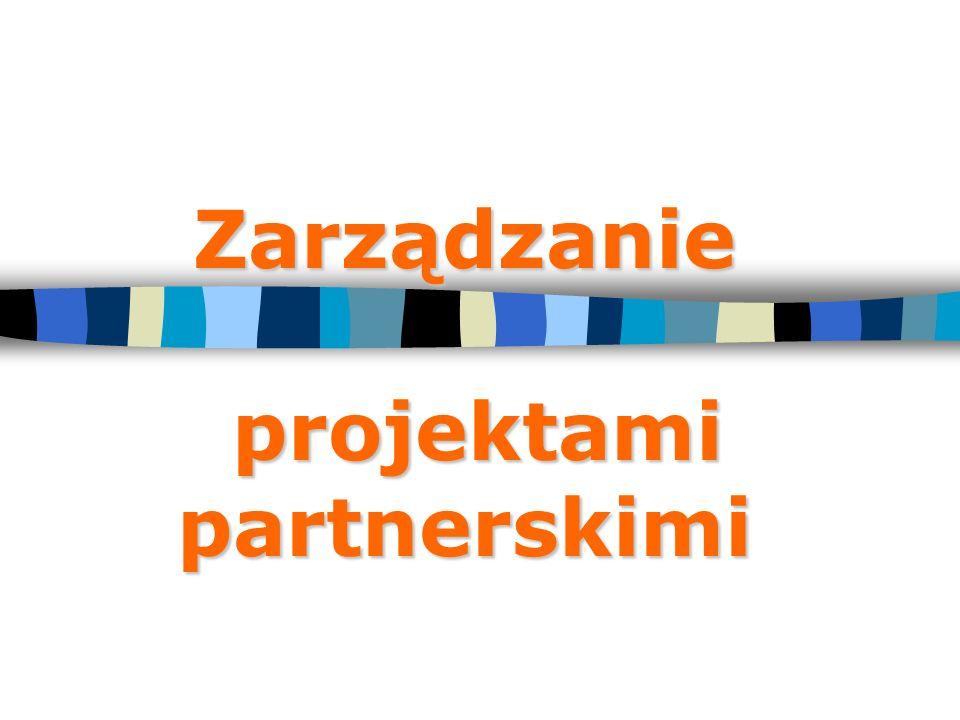 Zarządzanie projektami partnerskimi