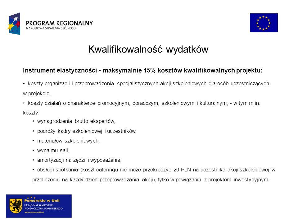 Terminy naborów Subregion Słupski, Subregion Południowy: do 15 VI (ogłoszenie konkursu 30 III) kolejne nabory: IX-X 2010, III-IV 2012 Subregion Metropolitalny, Subregion Nadwiślański: do 16 XI (ogłoszenie konkursu 7 IX) kolejne nabory: III-IV 2011, IX-X 2012