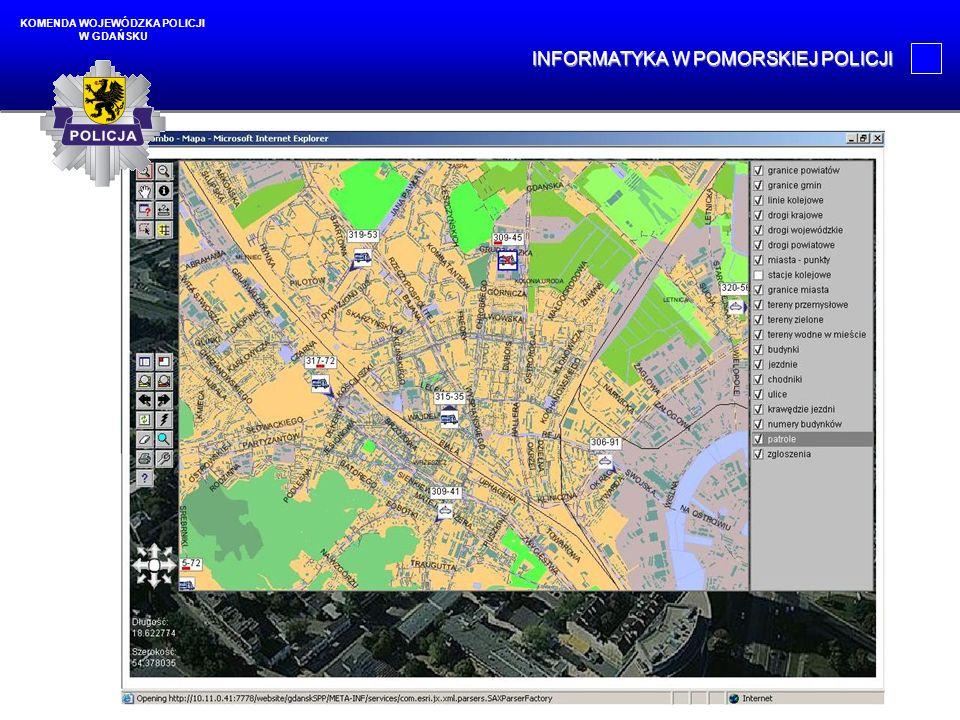 W najbliższej przyszłości: budowa sieci MAN dla Trójmiasta, E-Policja, System Obiegu Dokumentów, Elektroniczna Książka Służby Dyżurnego.