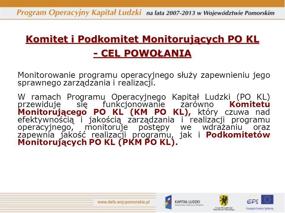 Monitorowanie programu operacyjnego służy zapewnieniu jego sprawnego zarządzania i realizacji.