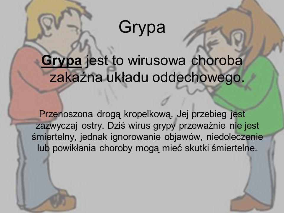 Źródła http://antybiotyki.edu.pl/ http://wikipedia.pl/ http://przeziebienie.astrent.pl/ http://domzdrowia.pl/ http://jejzdrowie.pl/ http://zdrowie.gazeta.pl/ http://choroby.senior.pl/ Agata Jabłońska