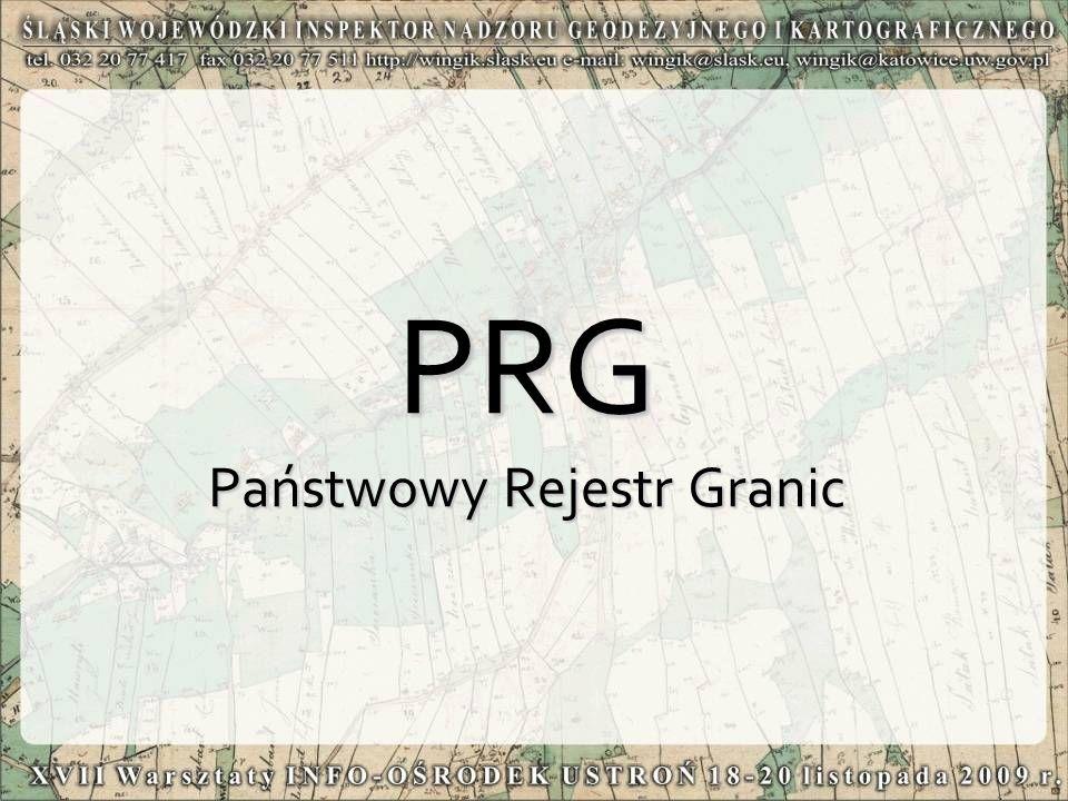 PRG Państwowy Rejestr Granic