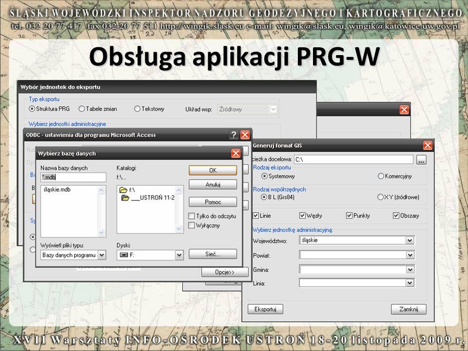 Aktualizacja PRG