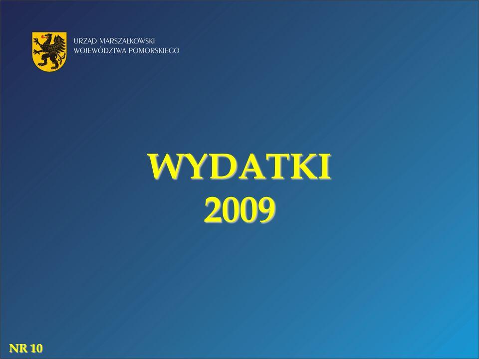 WYDATKI 2009 NR 10