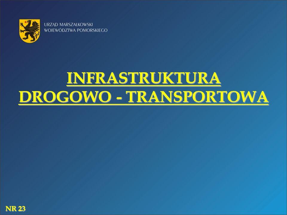 INFRASTRUKTURA DROGOWO - TRANSPORTOWA NR 23