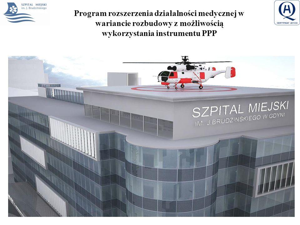 Program rozszerzenia działalności medycznej w wariancie rozbudowy z możliwością wykorzystania instrumentu PPP