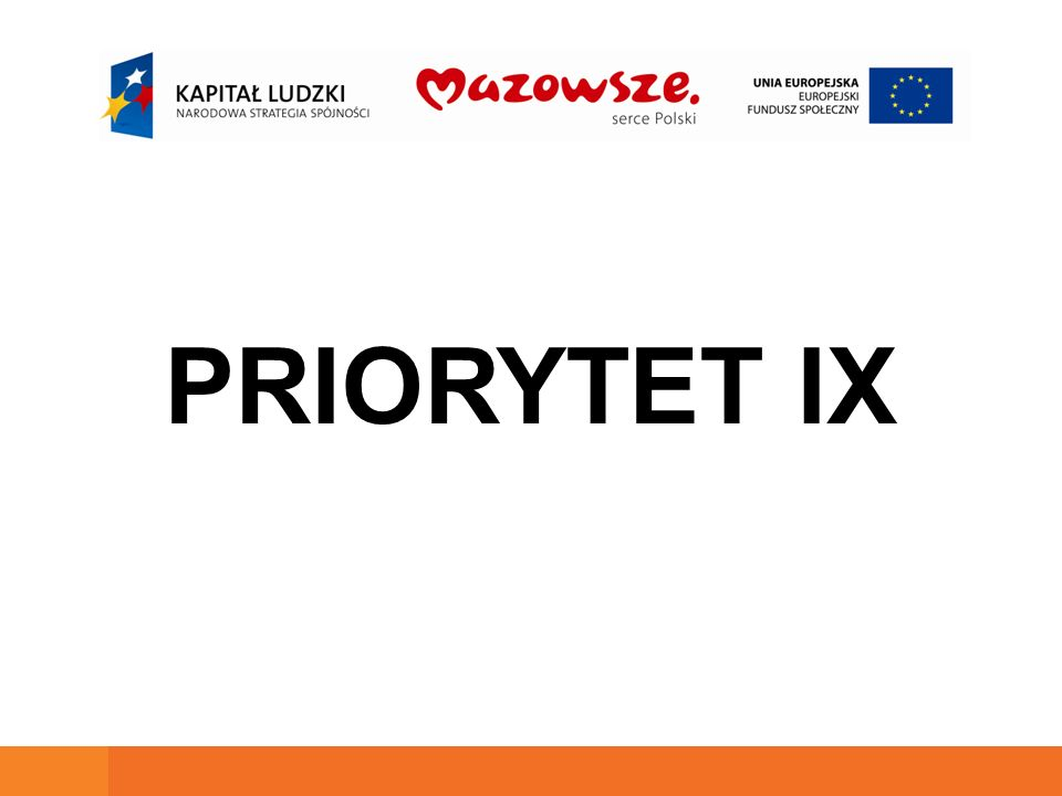 PRIORYTET IX