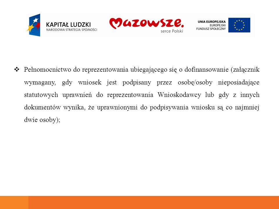 Obowiązki informacyjne Beneficjenci mają obowiązek prowadzenia działań informacyjnych i promocyjnych kierowanych do opinii publicznej (zgodnie z rozporządzeniem Rady (WE) 1083/2006, rozporządzeniem Komisji (WE) 1828/2006), Beneficjenci zobowiązani są do umieszczania obowiązujących logotypów na dokumentach dotyczących projektu (zgodnie z Wytycznymi w zakresie informacji i promocji).