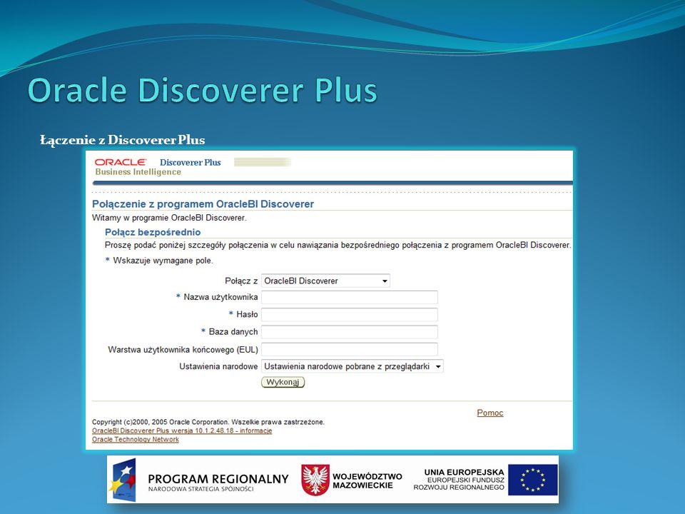 Łączenie z Discoverer Plus