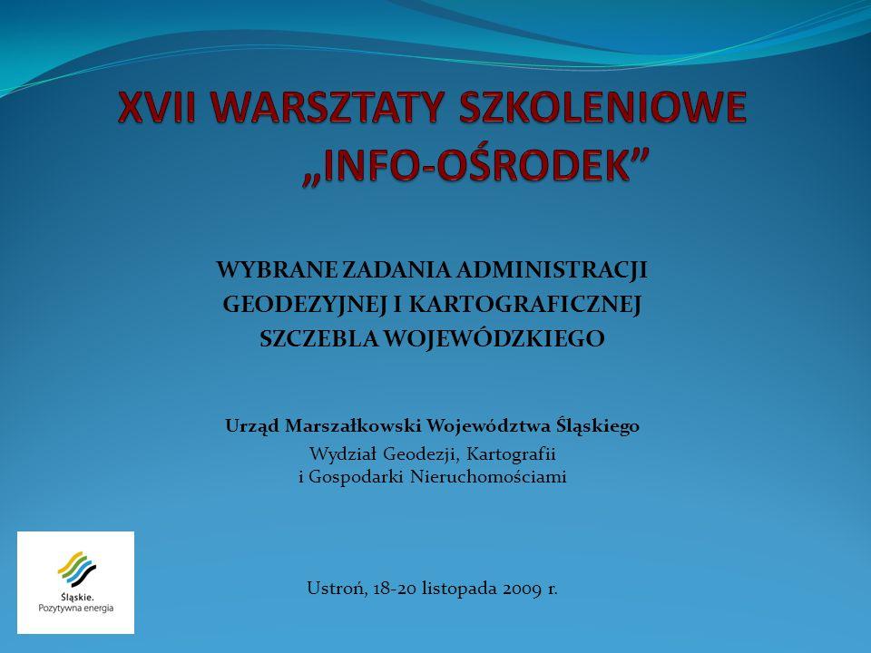 Stan realizacji Bazy Obiektów Użyteczności Publicznej w woj.