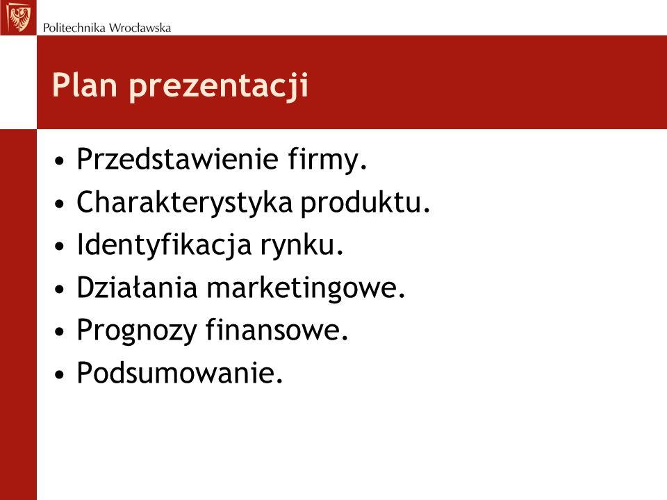 Przedstawienie firmy.