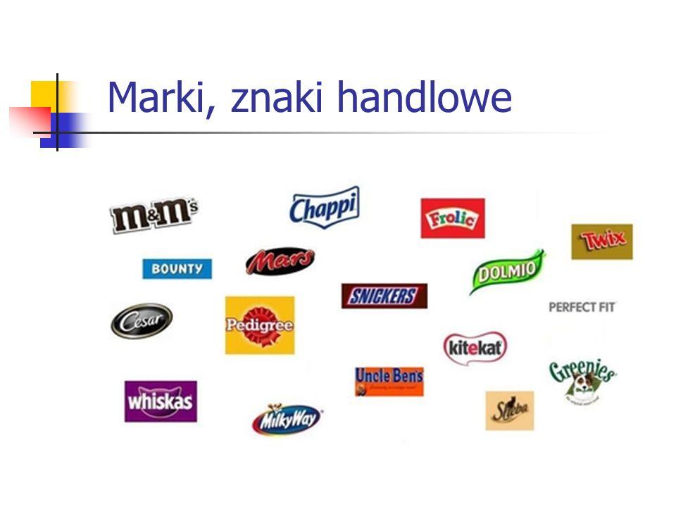 Marki, znaki handlowe